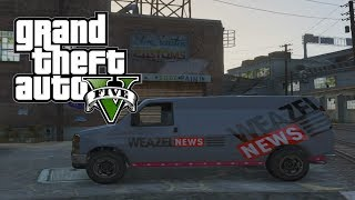 Game | GTA 5 Unique Vehicles Undercover Cop Car Weazel News Van GTA V | GTA 5 Unique Vehicles Undercover Cop Car Weazel News Van GTA V