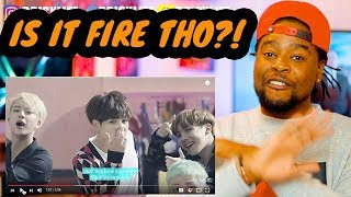 Black Guy Reacts To Bts - Fire | Mv | Reaction!!! 방탄소년단   불타오르네