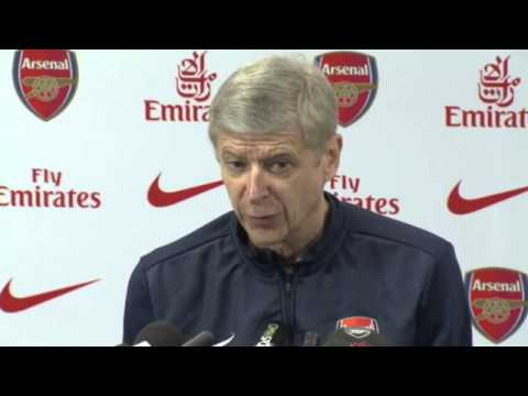 Arsenal's Arsène Wenger on Nicklas Bendtner and Mesut Özil