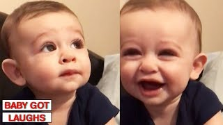 Funniest Babies of 2018   Try Not To Laugh Challenge