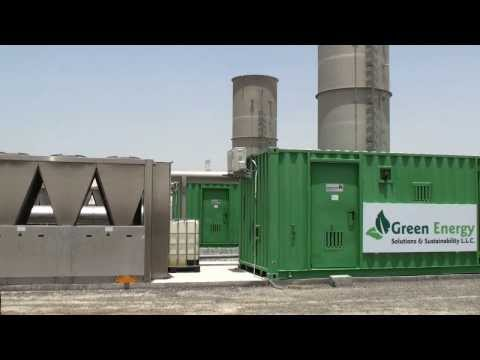 Dubai project uses natural gas to produce electricity