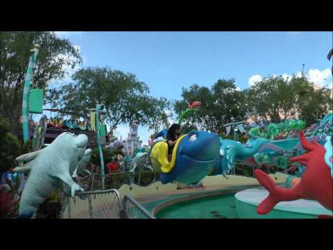 One Fish, Two Fish, Red Fish, Blue Fish, Islands of Adventure, Universal Orlando HD (1080p)