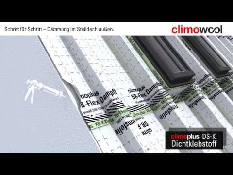 Climowool - izolacja dachu skośnego