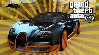 GTA V Bugatti Veyron Secret Location How To Get
