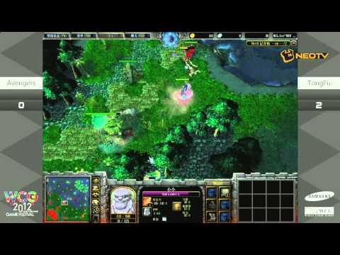 [WCG2012GF] ENG DotA Avengers vs Tongfu