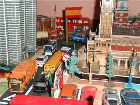 maqueta ciudad city con majorette hot wheels matchbox