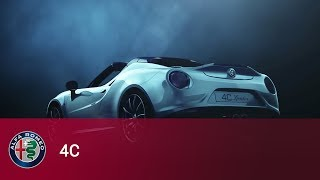 WORLD PREMIERE: THE NEW ALFA ROMEO 4C SPIDER