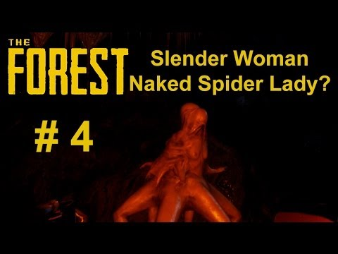 The Forest Part 4 - Slender Woman Naked Spider Lady?