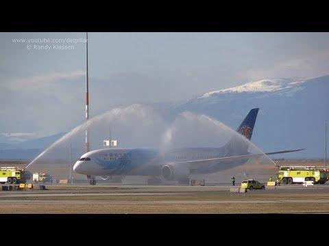 China Southern 787 Inaugural at YVR