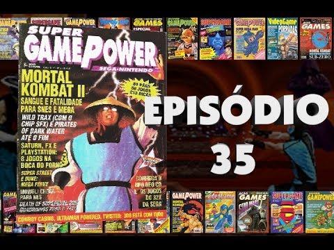 História Revista 35 - Supergamepower 5 - Agosto/1994
