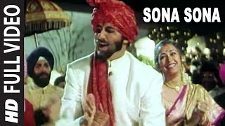 Sona Sona [Full Song] | Major Saab | Amitabh Bachchan, Ajay Devgn, Sonali Bendre