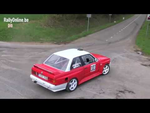 BMW E30 spins @ Rallysprint Fanny 2018