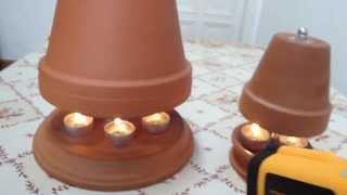 teelichtofen bauanleitung vorbereitung richtig bohren und. Black Bedroom Furniture Sets. Home Design Ideas
