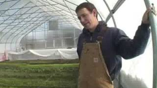 Hoophouse Production Temperature & Humidity