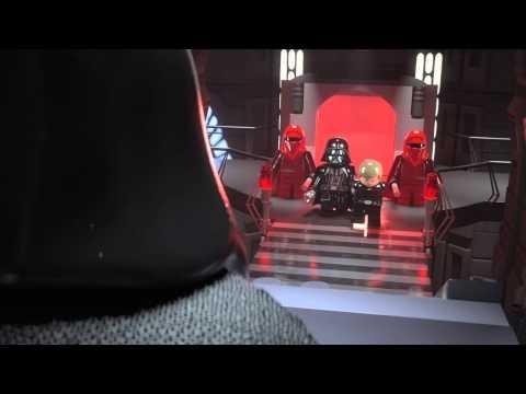 Lego Star Wars záverečný boj