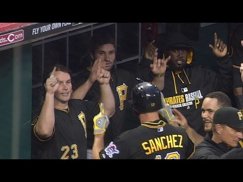 Pirates embrace WWE 'YES, YES, YES' chant