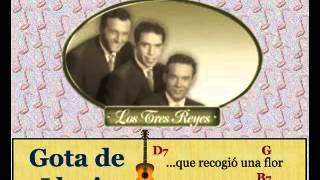 Los Tres Reyes: Gota De Lluvia (letra Y Acordes)