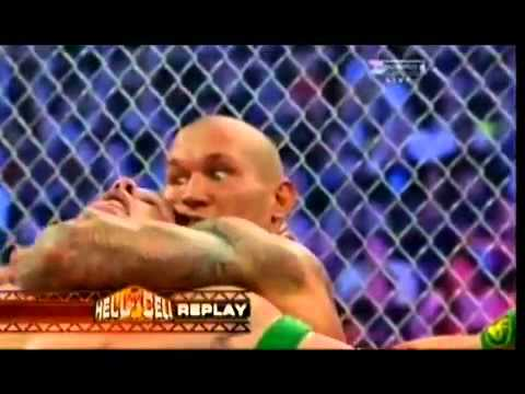 John Cena vs Randy Orton   Hell In A Cell Part 4 of 4