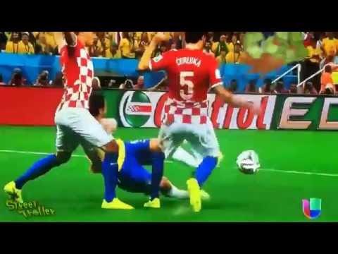 Neymar penalty kick Brazil Croatia: what really happened