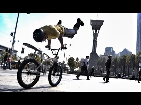 Image video Bike Parkour -Streets of San Francisco