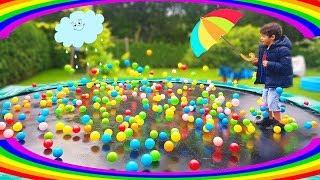 Rain Rain Go Away Nursery Rhymes for Kids Pretend Play