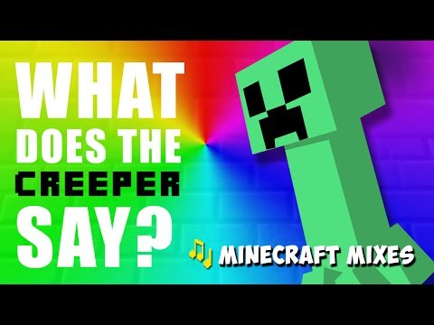 What Does the Creeper Say (Minecraft Song Parody of What Does The Fox Say)