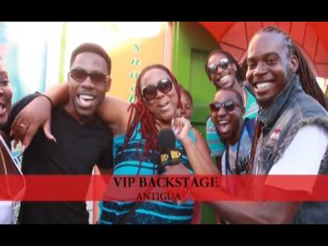 RETV VIP Backstage Antigua featuring Mad-T-Guans