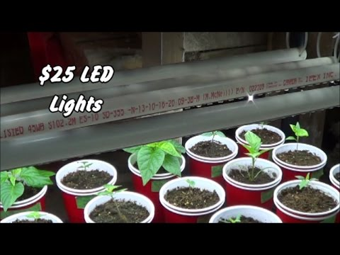 Simple DIY Project $25 LED Tube Lights for Indoor Gardening