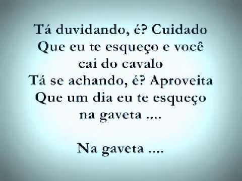 Gaveta Fernando e Sorocaba - Letra