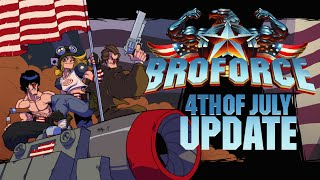 Broforce - 'Fourth of July' Update Trailer
