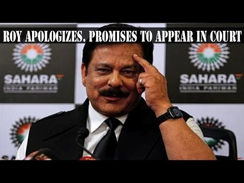 Subrata Roy pleads SC for cancellation on NBW