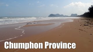 Chumphon Province in Southern Thailand