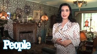 Dita Von Teese's Massive Shoe Collection | People