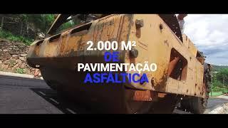 OBRAS - Pavimentação Rua Santa Emília - SERRA NEGRA/SP