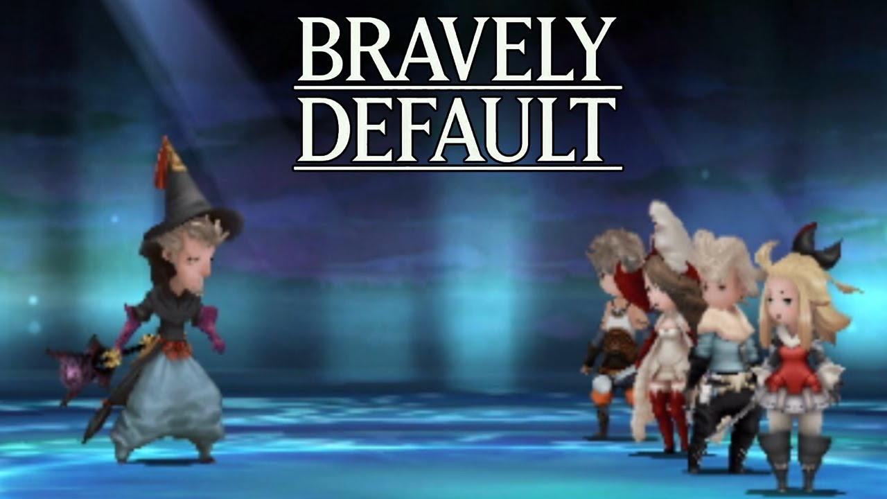 Let's Play Bravely Default Part 6 Boss Battle 2 Black Mage - Gameplay ...