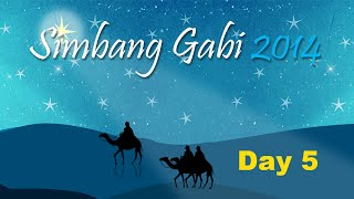 Simbang Gabi Day 5 – Dec 20