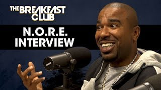 N.O.R.E. Talks Drink Champs, Taxstone, Pharrell Collabs & More