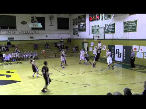 NH Sports Page Basketball Lebanon vs Bishop Brady Highlights 1-17-14