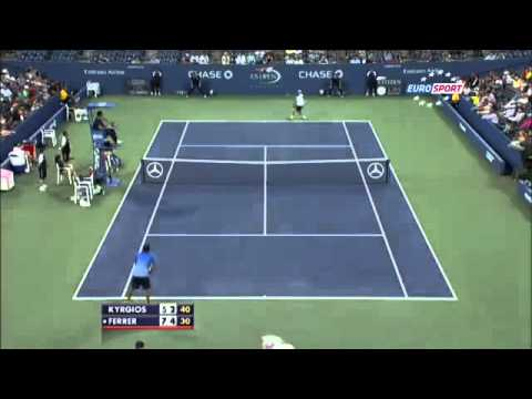 David Ferrer vs Nick Kyrgios ~ Highlights ~ US Open 2013 R1)
