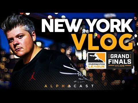 Découverte de NEW YORK ! ► Finale de l'Overwatch League