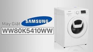 Máy giặt Samsung 8 kg WW80K5410WW/SV -  dòng máy giặt AddWash của Samsung | Điện máy XANH