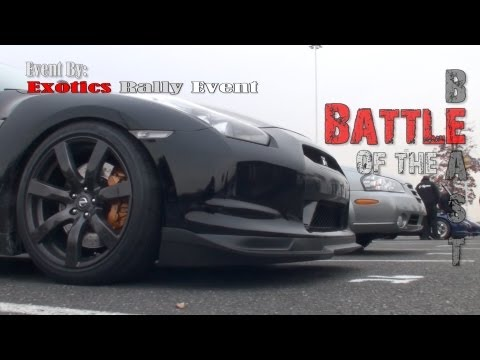 Battle of the Beasts a Exotics Rally Drag racing Event.