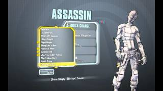 Borderlands 2 All Heads And Skins For Zero!