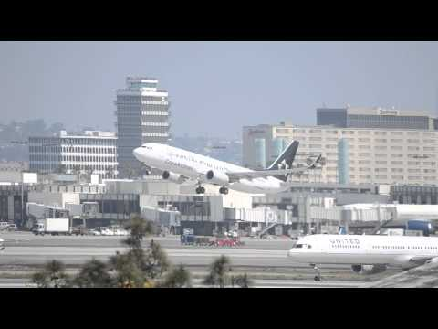 Copa Airlines Boeing 737-800 [HP-1728CMP] (Star Alliance Livery) Takeoff From LAX
