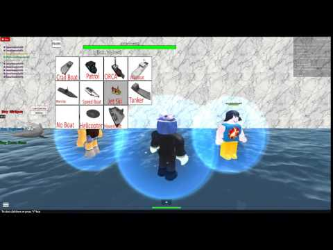 Roblox lets play JAWS