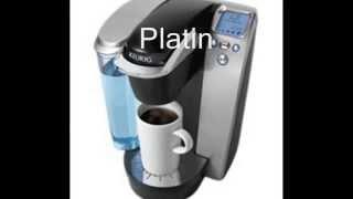 Keurig K75 Platinum Brewing System Watch Keurig K75
