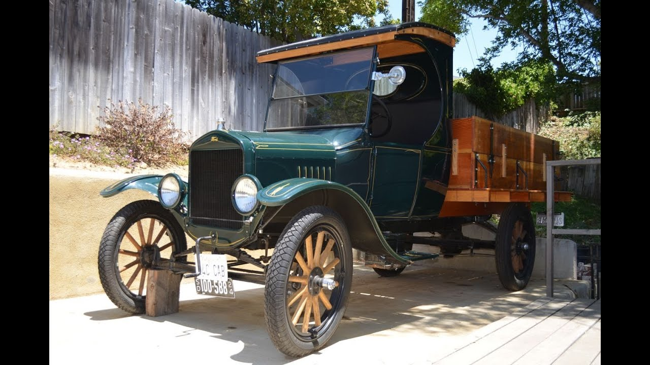 1924 Model T C Cab Truck For Sale Ca Youtube