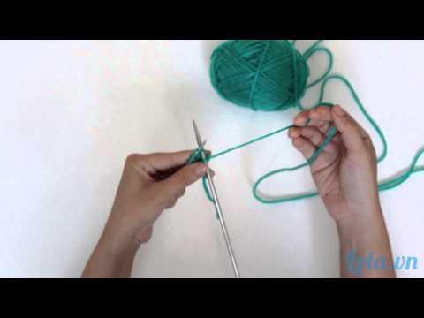 Hướng dẫn các bước đan len cơ bản