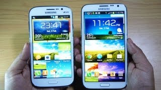 Samsung GALAXY GRAND DUOS Vs GALAXY NOTE 2 Review By