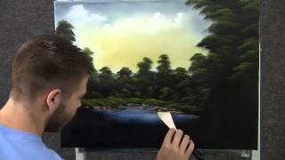 Paint With Kevin Hill Secret Fishing Hole Wet On Wet
